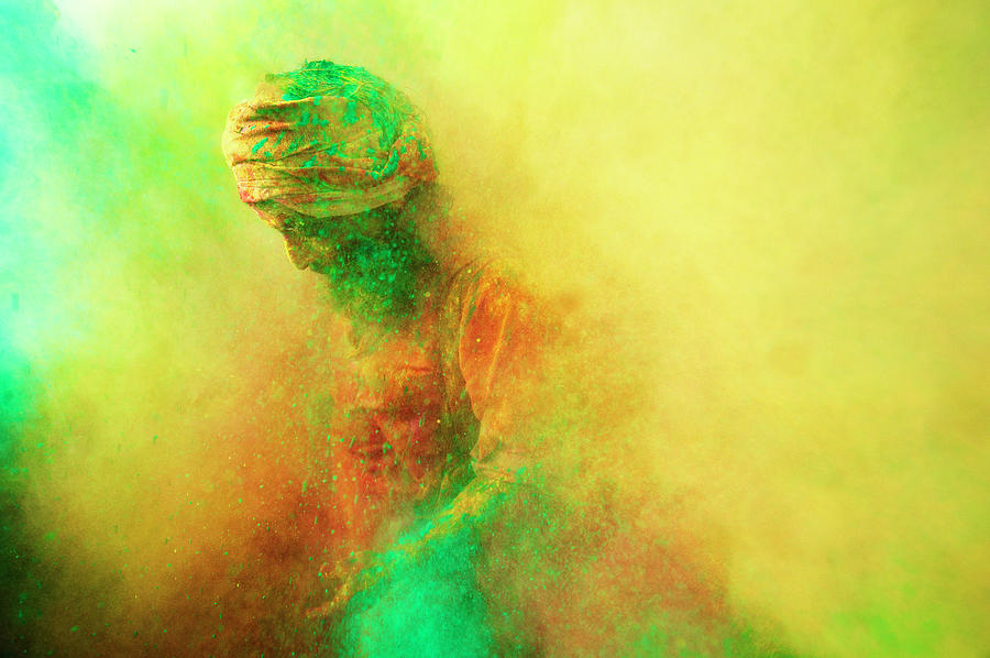 Holi, Festival Of Colors, India Photograph by Poras Chaudhary