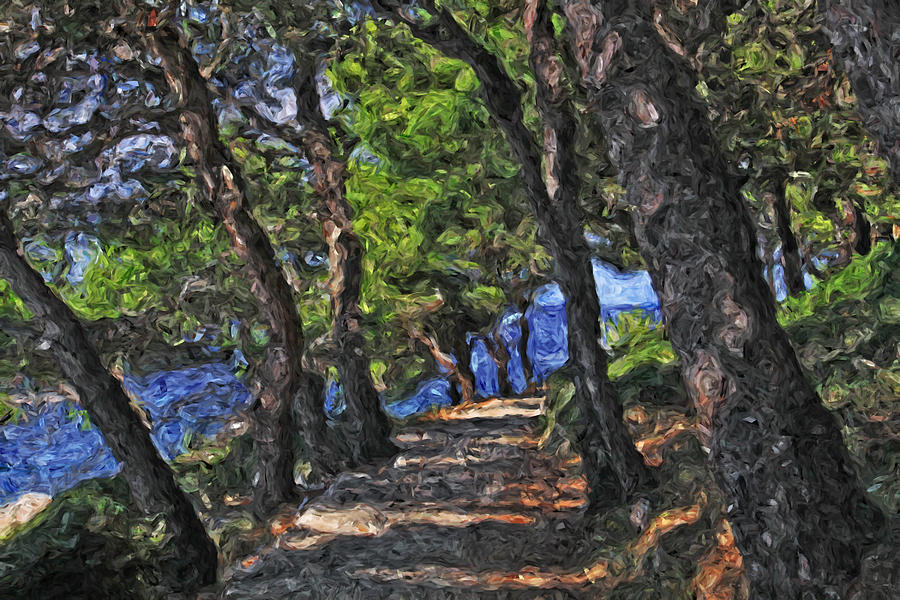 Holiday in Croatia Losinj island sea promenade by Luisa Vallon Fumi