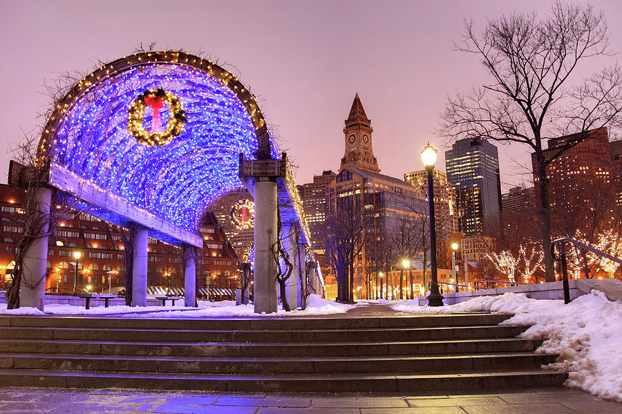 Holidays In Boston Photograph by Denistangneyjr