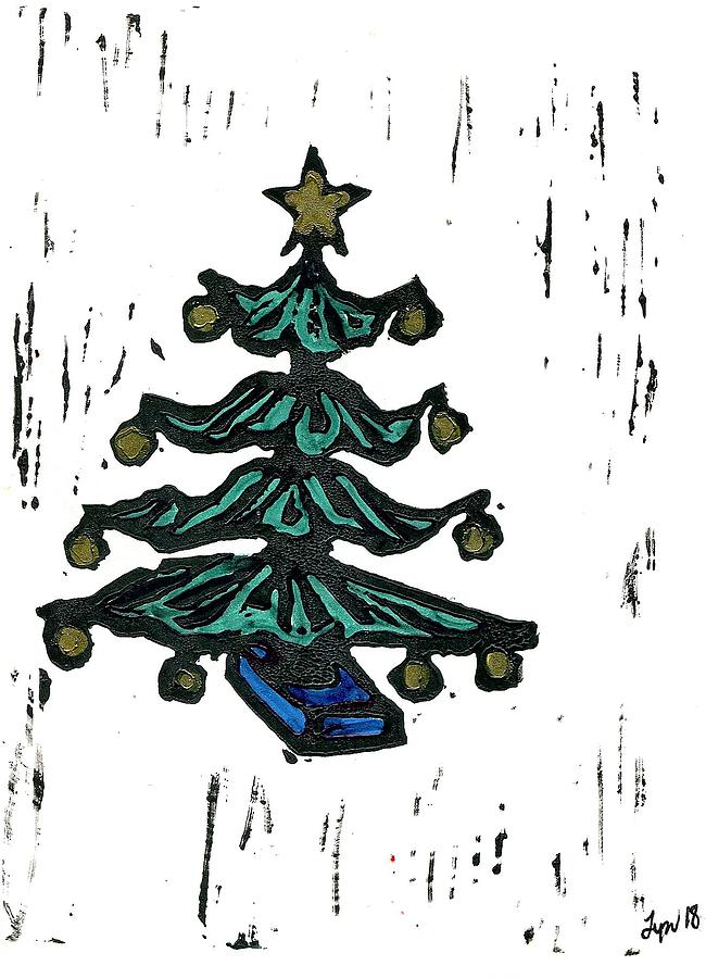 Holidays Tree by Lyn Hayes