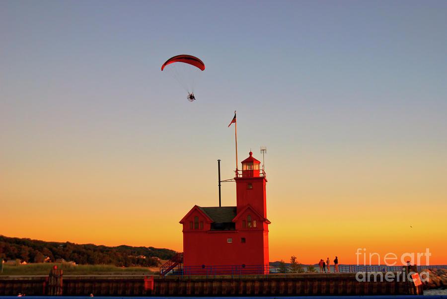 Holland Harbor Lighthouse2 by Steve Edwards