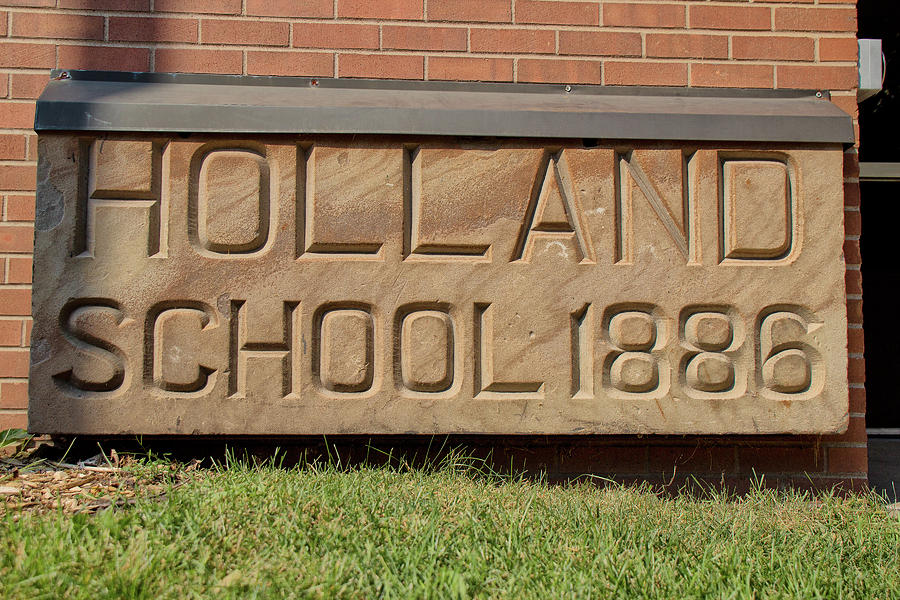 Holland School 1886 by Nancy Dunivin