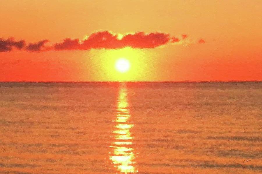 Hollywood Beach Sunrise by Dean Wittle