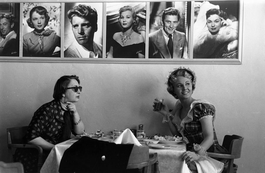 Hollywood Cafe Photograph by Kurt Hutton