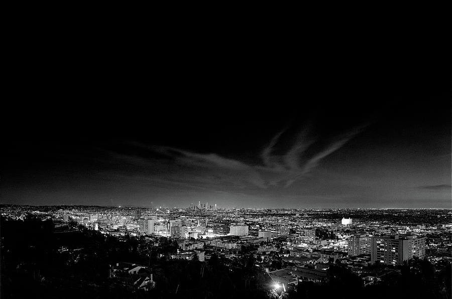 Hollywood from the Hills by Richard Lund