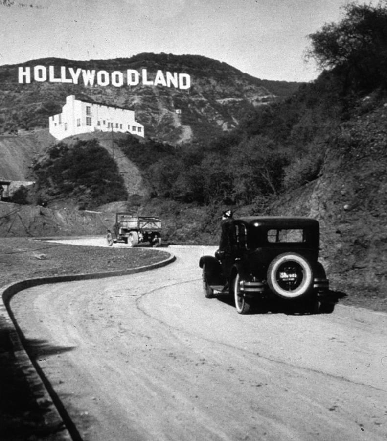 Hollywood Land Photograph by Mpi