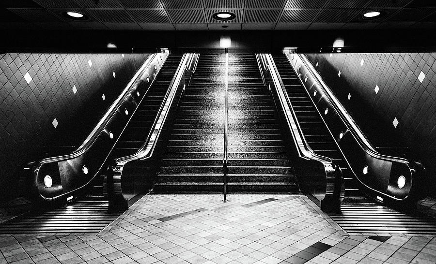 Hollywood Underground Station, USA by Maggie McCall