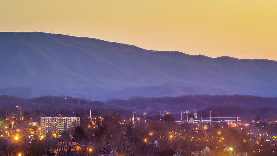 Holston Mountain Photograph - Holston Mountain Over Tennessee High by Greg Booher