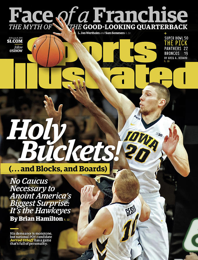 Holy Buckets ...and Blocks, And Boards. No Caucus Necessary Sports Illustrated Cover Photograph by Sports Illustrated