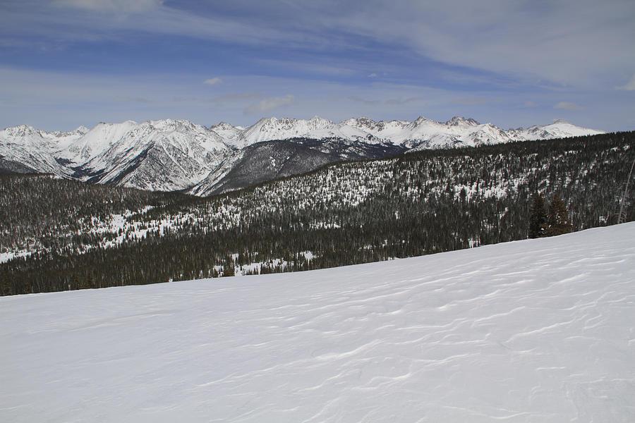 Holy Cross Wilderness Area In Winter Photograph by John Kieffer