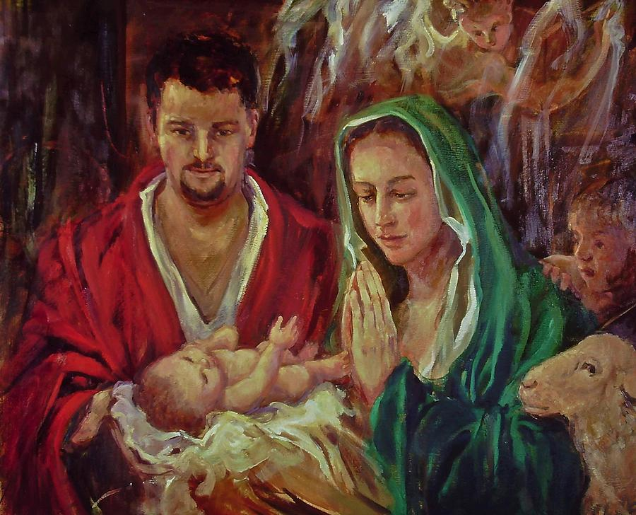 Holy Family  by Beverly Klucher