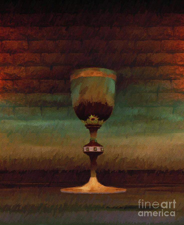 Holy Painting - Holy Grail by Sarah Kirk