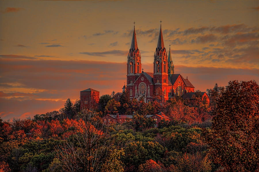 Holy Hill Sunrise by Dale Kauzlaric