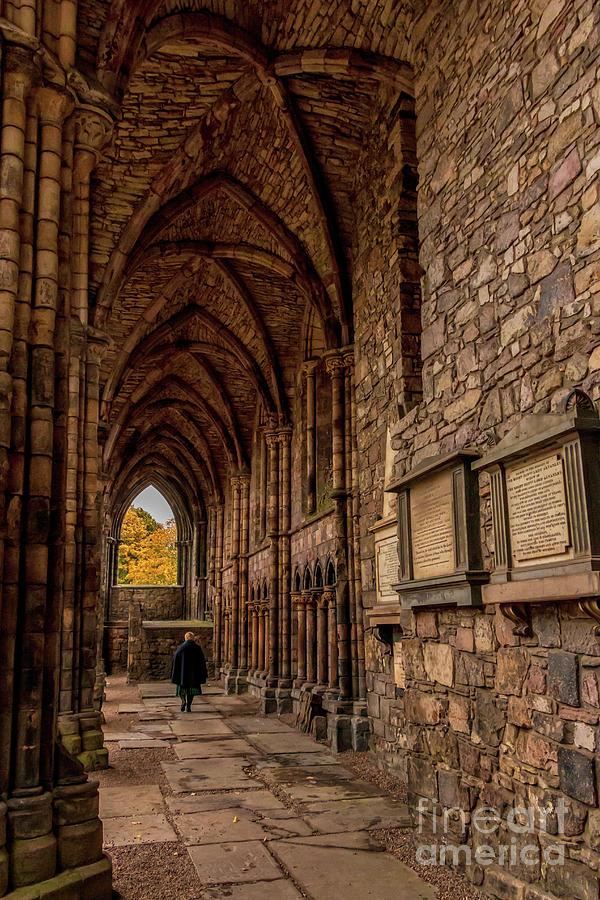 Holyrood Abbey Photograph