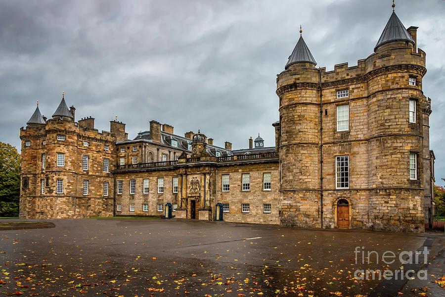 Holyrood Palace Photograph