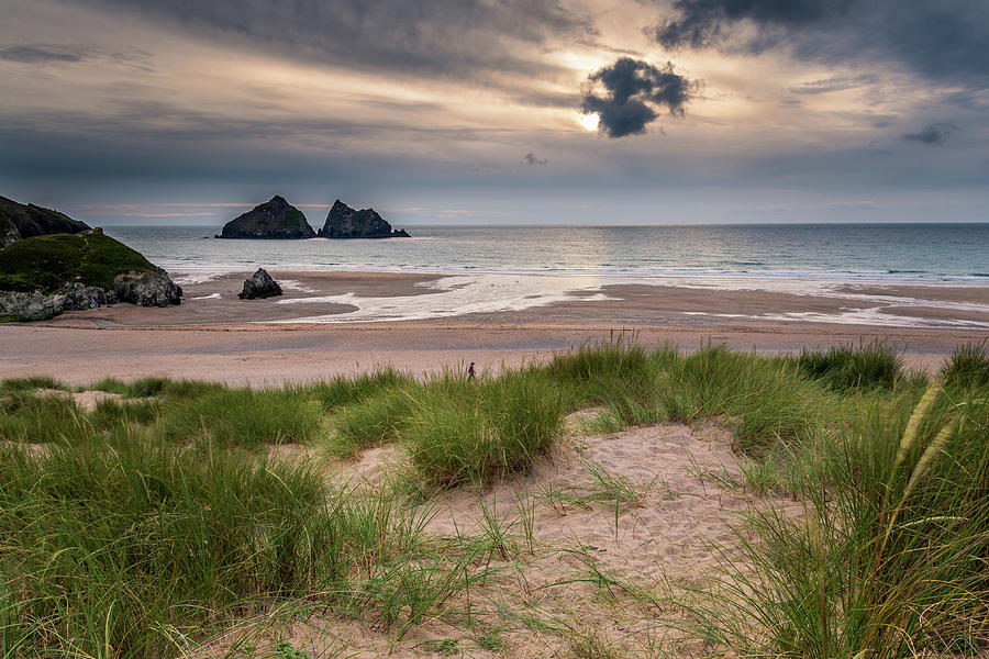 Holywell bay -1 by Chris Smith