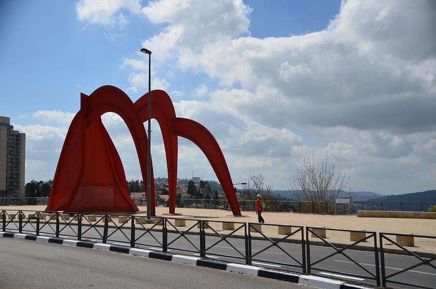 Homage to Jerusalem by Alexander Calder by Alex Vishnevsky