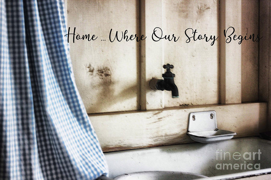 Home ... Where Our Story Begins by Natural Abstract Photography