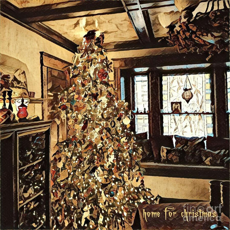 Home for Christmas by Jodie Marie Anne Richardson Traugott          aka jm-ART