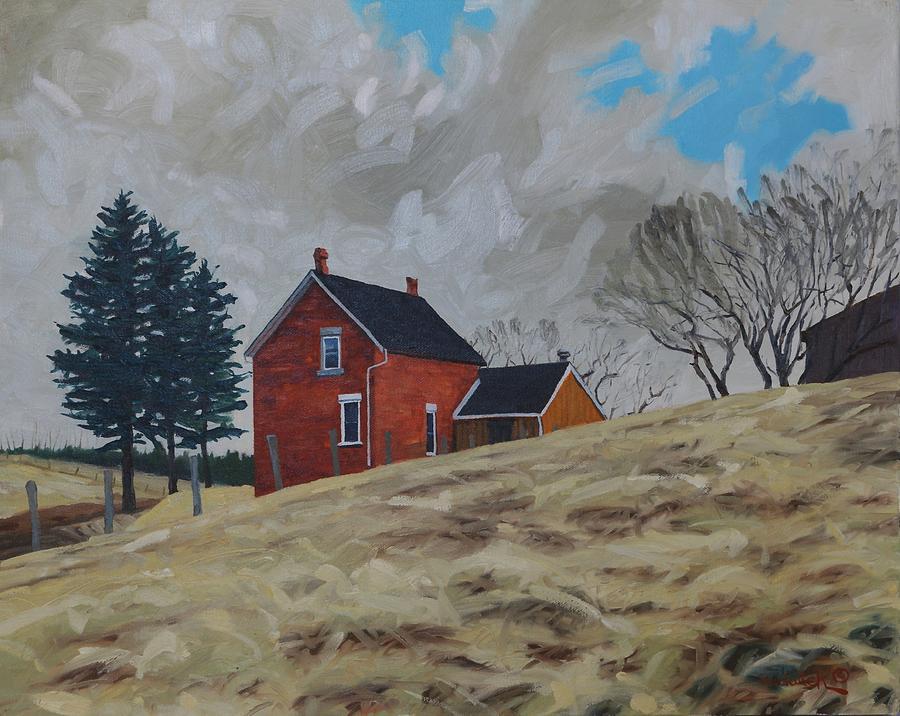 Home, Home on Mo-Raine by Phil Chadwick