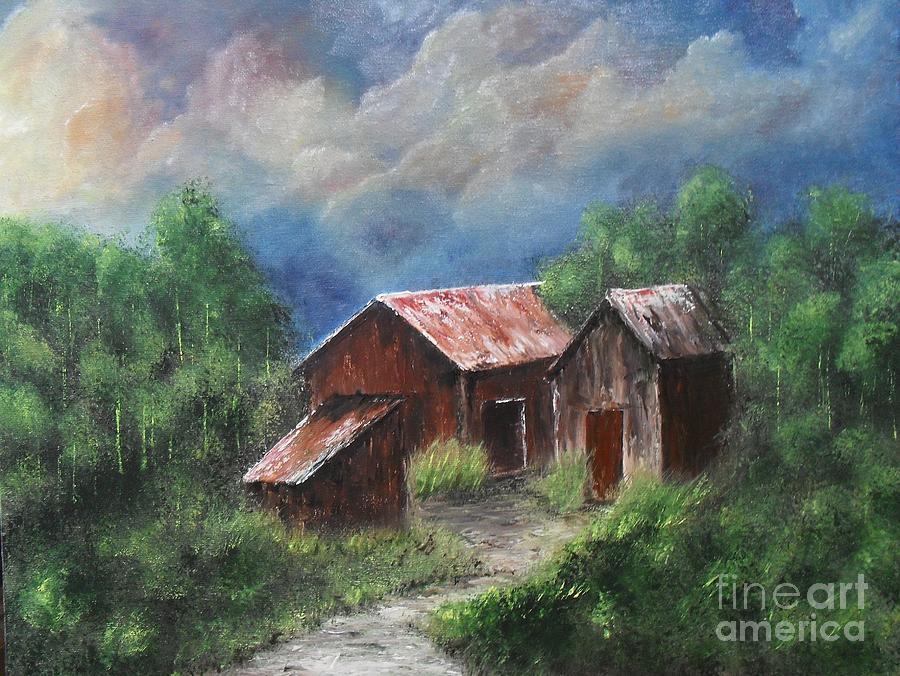 Home Painting by Lia Van Elffenbrinck