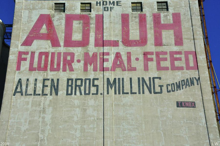 Home Of Adluh Flour Meal Feed Mill Columbia SC by Lisa Wooten