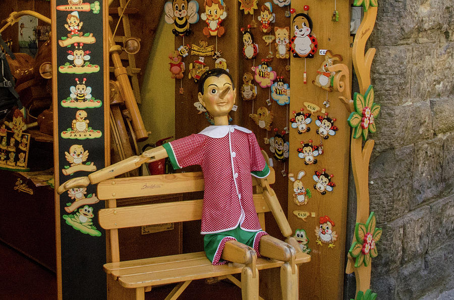 Home of Pinocchio by Douglas Wielfaert