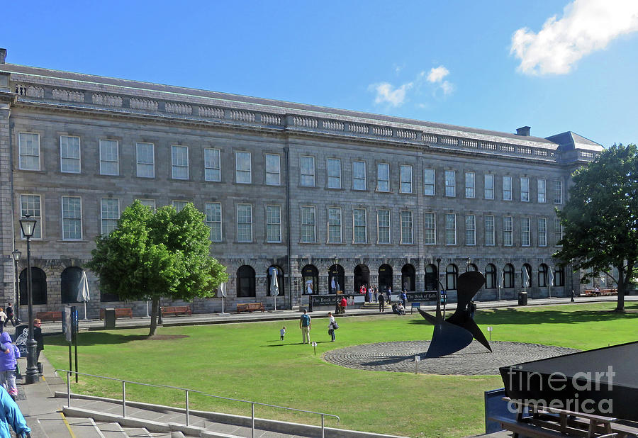Home of the Book of Kells by Cindy Murphy