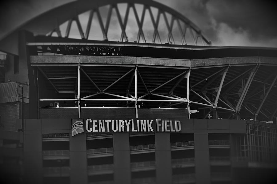 Football Photograph - Home Of The Seahawks 11 by Lkb Art And Photography