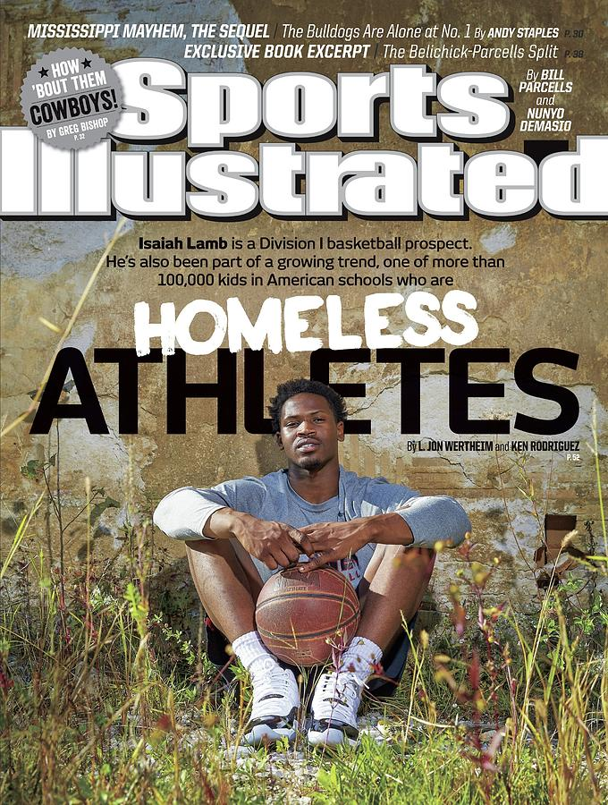 Homeless Athletes Special Report... Sports Illustrated Cover Photograph by Sports Illustrated
