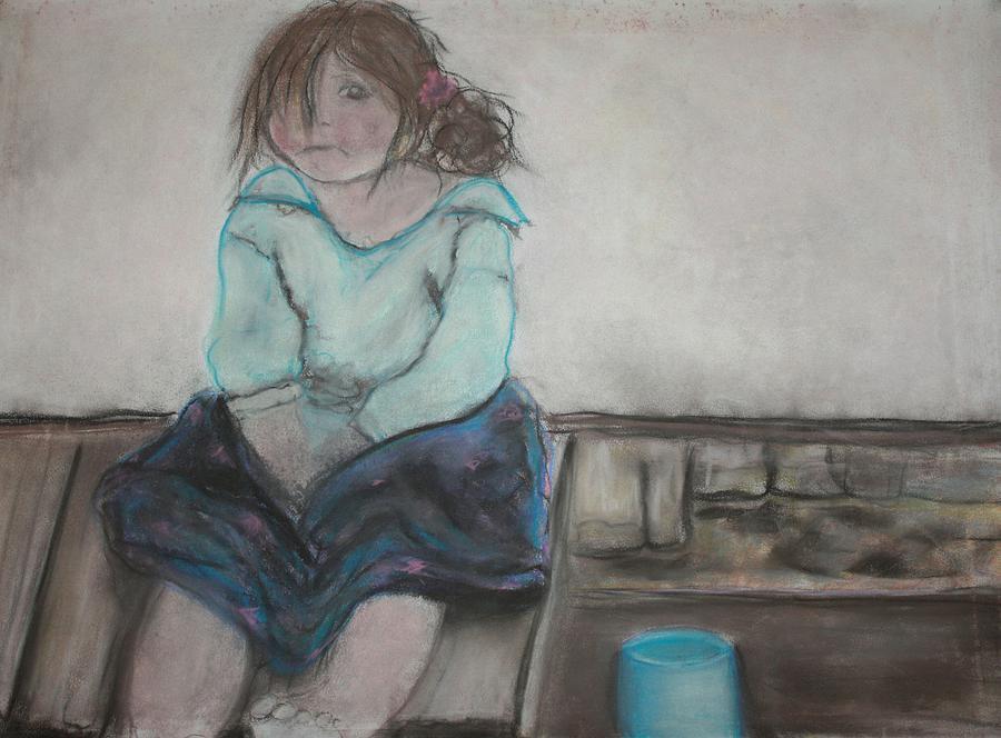 Homeless Child by The Art Of Marilyn Ridoutt-Greene