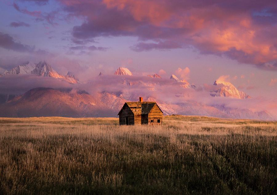 Homesteader's Dream / Mission Valley, Montana  by Nicholas Parker