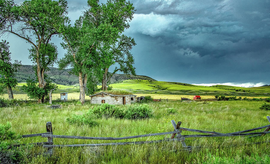Homesteading In Rural Montana Photograph By Marcy Wielfaert,60th Wedding Anniversary Gift Ideas