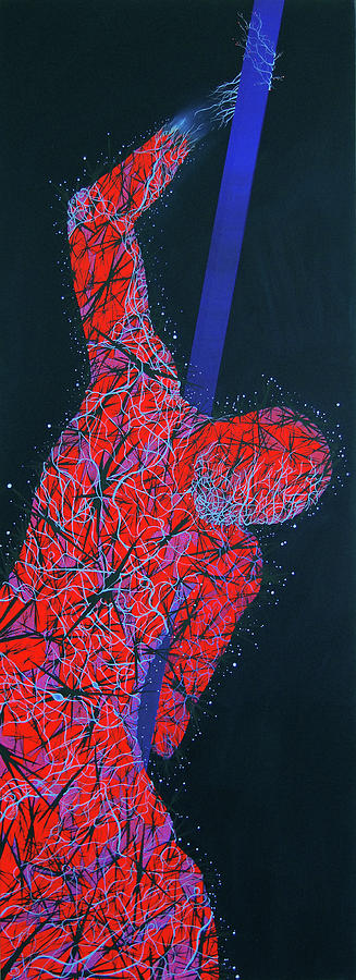 Homo-bilis-ruber Mutation Gen Abcg8 Painting by Benjamin Hummitzsch