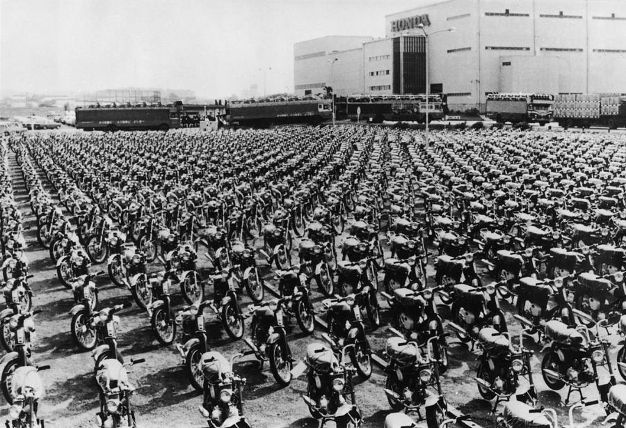 Honda Works Photograph by Keystone