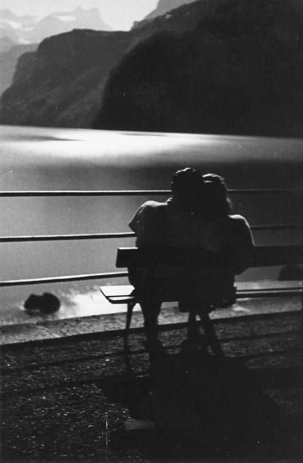 Honeymoon Couple Photograph by Bert Hardy