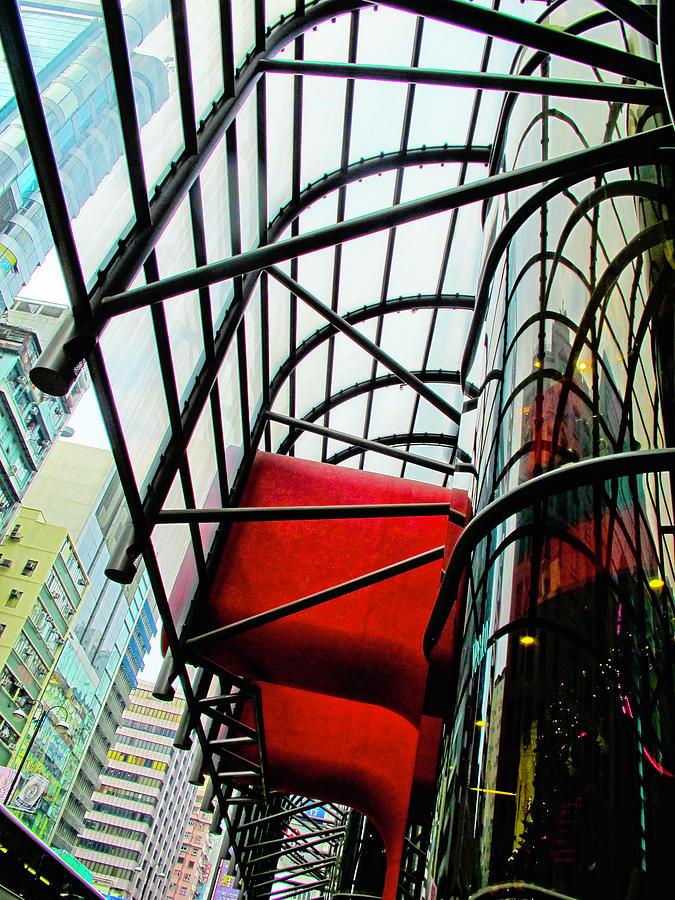 Hong Kong Abstract 2 by Rochelle Berman