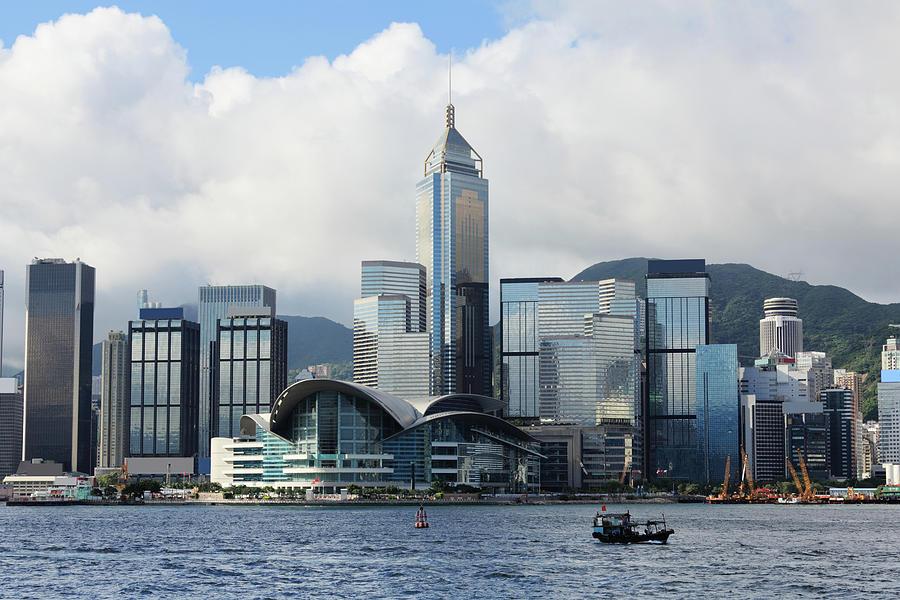 Hong Kong Convention And Exhibition Photograph by Samxmeg