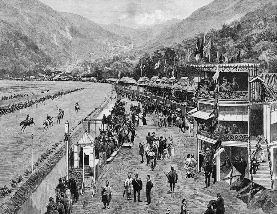 Hong Kong Derby Photograph by Hulton Archive