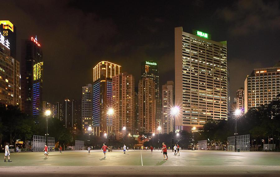 Hong Kong Football Photograph by John Lamb
