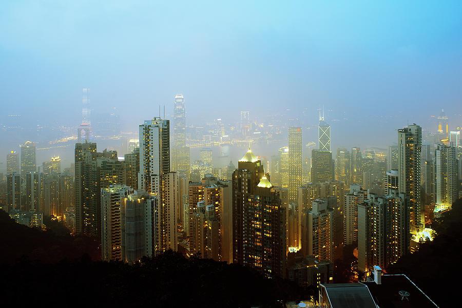 Hong Kong Island Photograph by John Lamb
