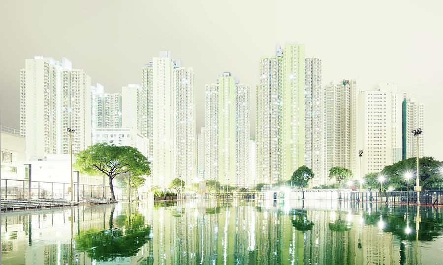 Hong Kong Skyline Photograph by Spreephoto.de