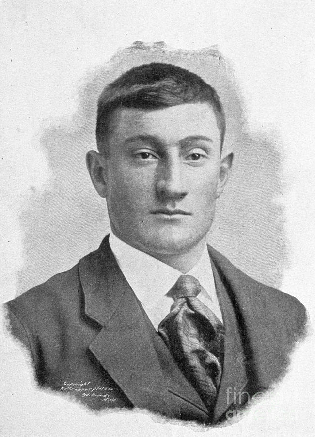 Honus Wagner Louisville 1899 Photograph by Transcendental Graphics