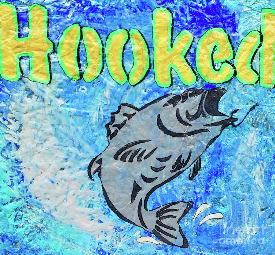 Hooked Painting