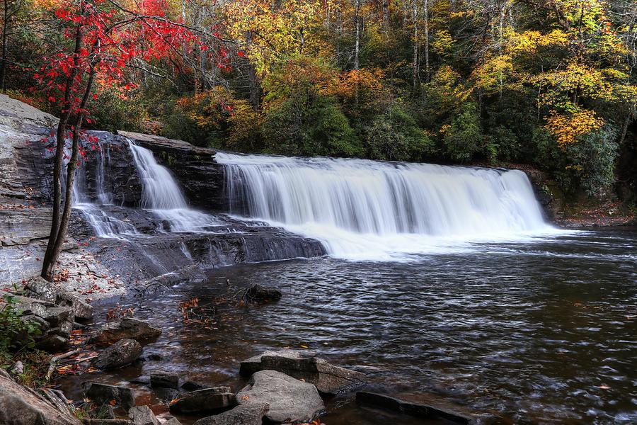 Hooker Falls During Autumn 2019  by Carol Montoya