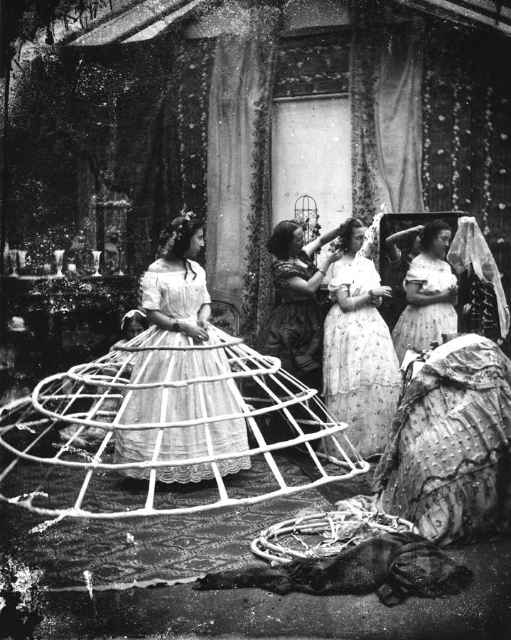 Hoop Skirt By London Stereoscopic Company Hoop skirt — a hoop skirt or hoopskirt is a women s undergarment worn in various periods to hold the skirt extended into a fashionable shape.hoop skirts typically consist of a fabric petticoat with. hoop skirt by london stereoscopic company