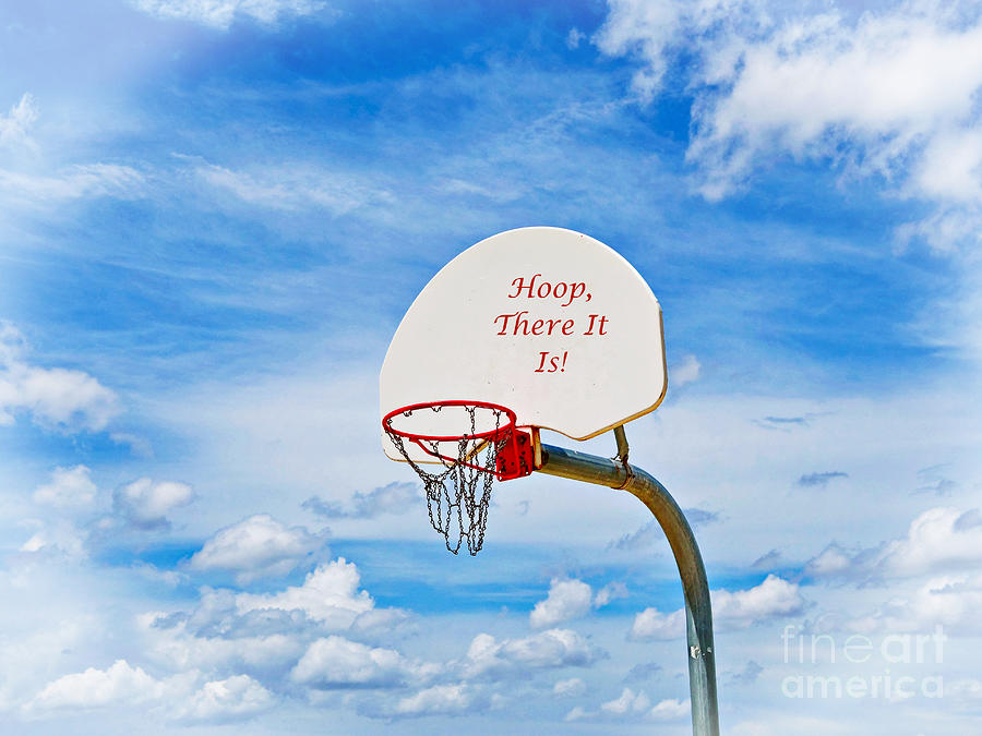 Hoop, There It Is Photograph