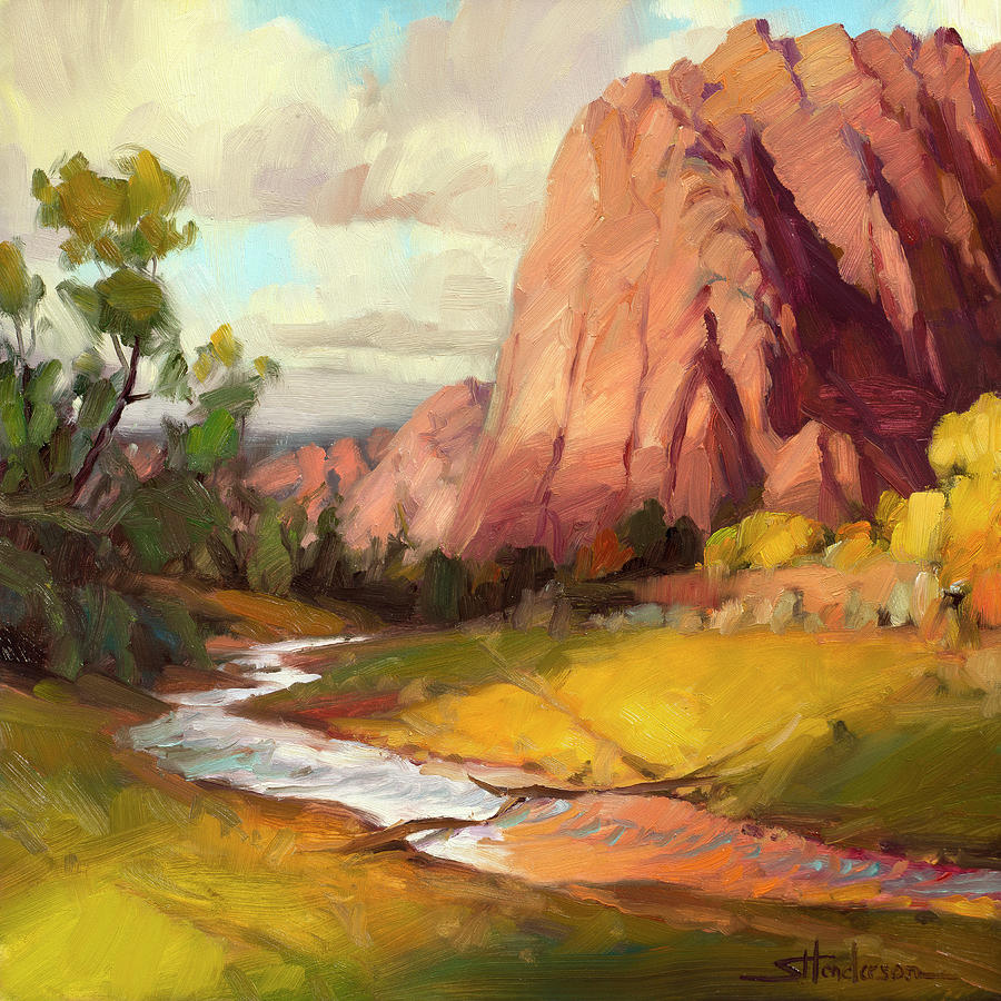 Hop Valley by Steve Henderson