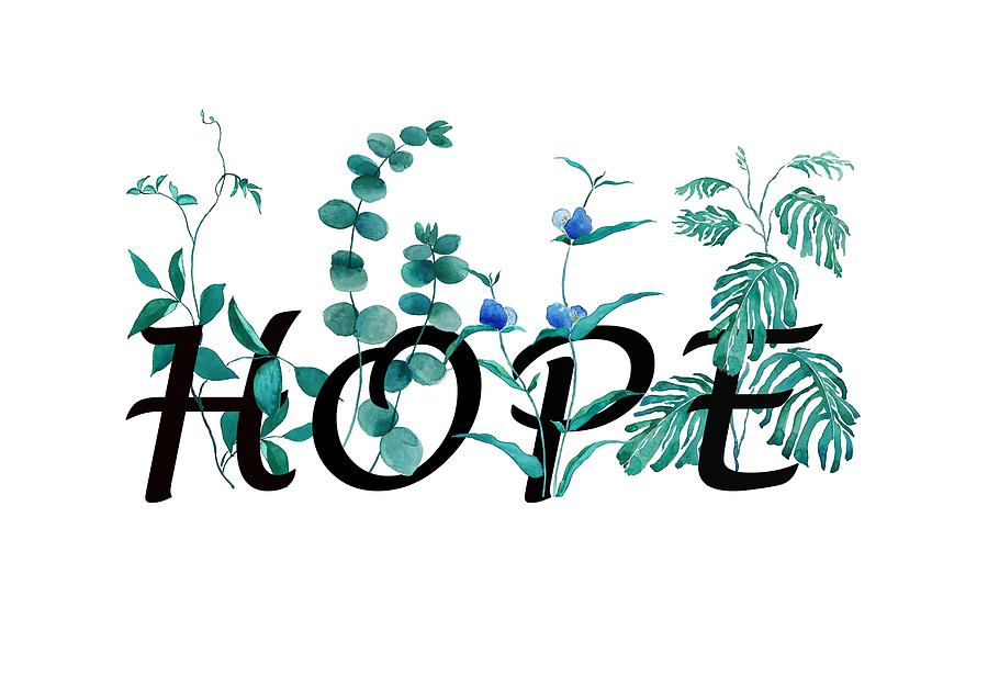 hope calligraphy design by Color Color
