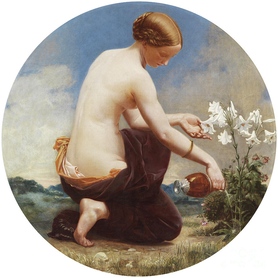 Hope Cherishing the Drooping by William Cave Thomas
